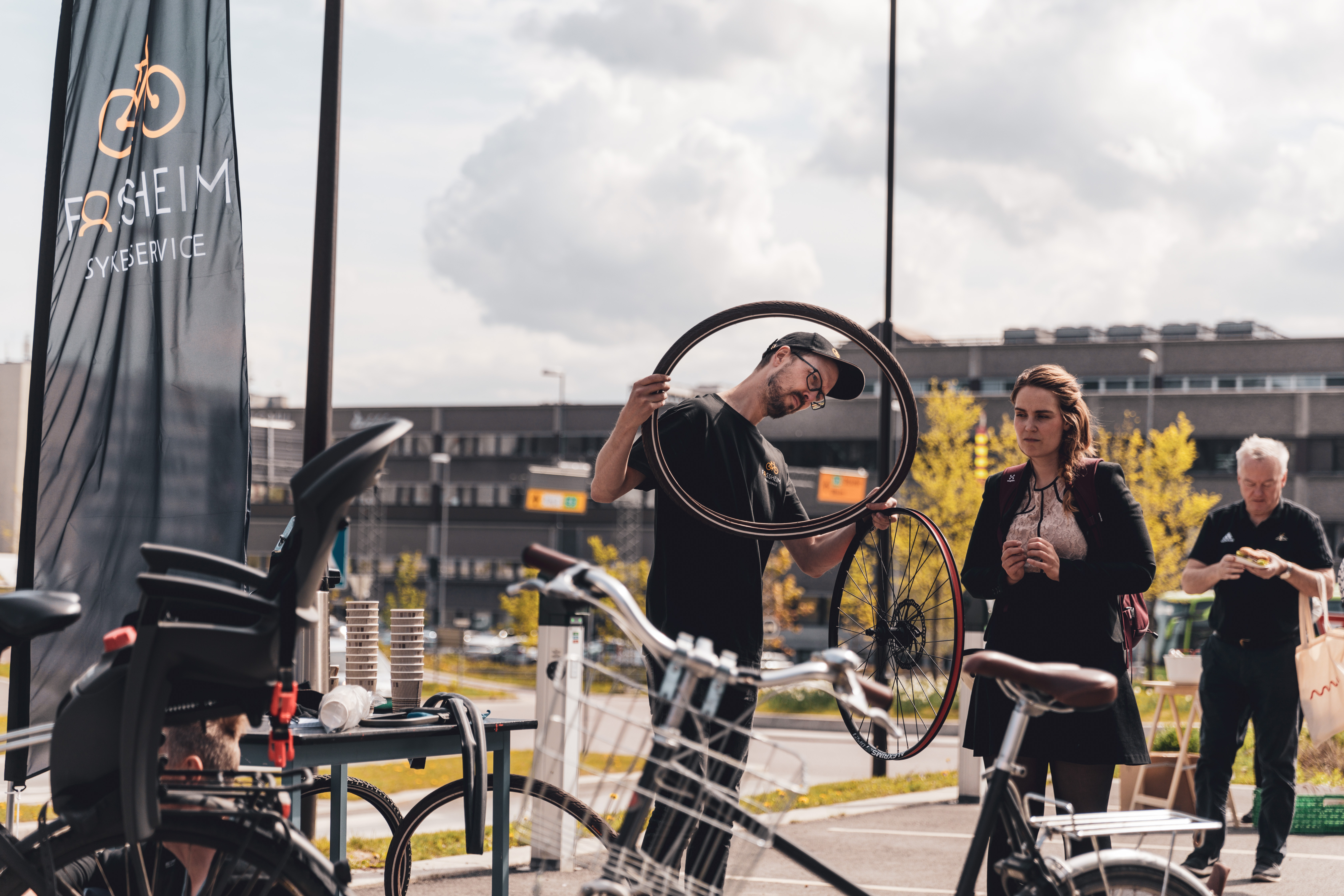 - Mobilitetsdag på Haslelinje. Foto: Krister Sørbø, REDINK